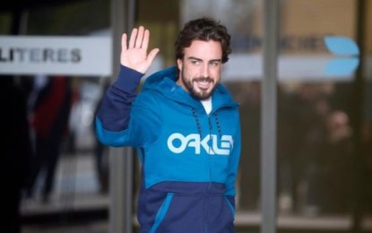 Fernando torna a casa. Nei test Magnussen