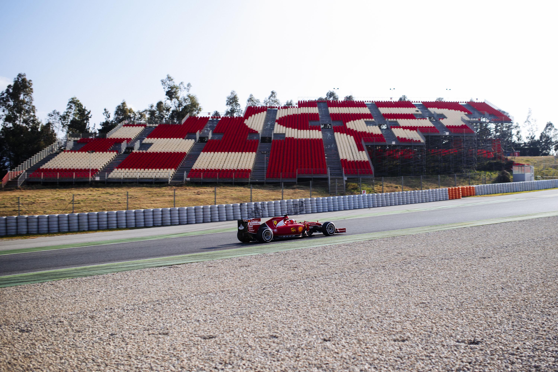 Ferrari: Kimi soddisfatto del primo giorno di test
