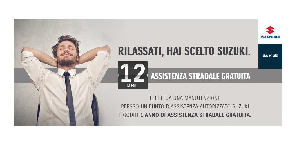 Suzuki Activated Road Assistance S.A.R.A.
