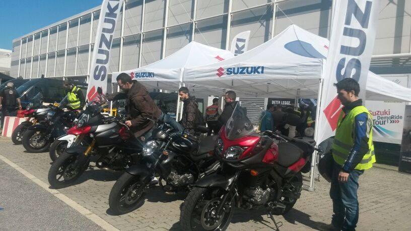 Suzuki a Motodays con le novità 2015
