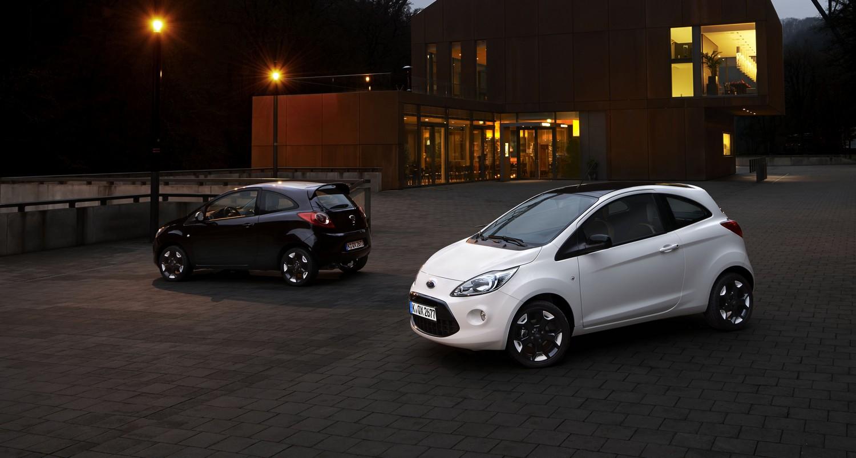 Fiesta e Ka Black & White Edition: il massimo del trendy!