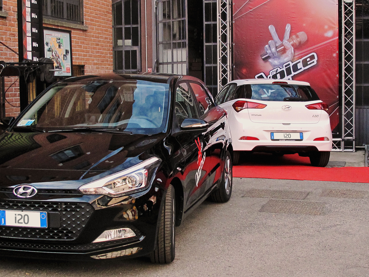 Hyundai i20 per The Voice of Italy