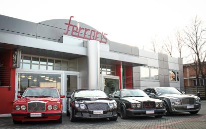 Romeo Ferraris diventa Bentley Specialist