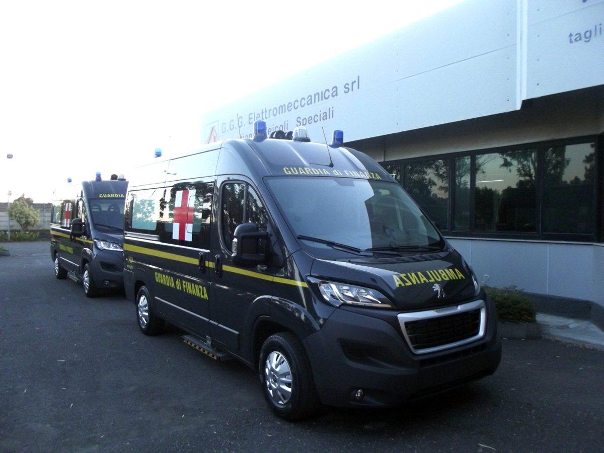 Expo 2015: Peugeot ambulanza ufficiale della GdF