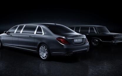 Mercedes-Maybach Pullman: lusso e tradizione al top