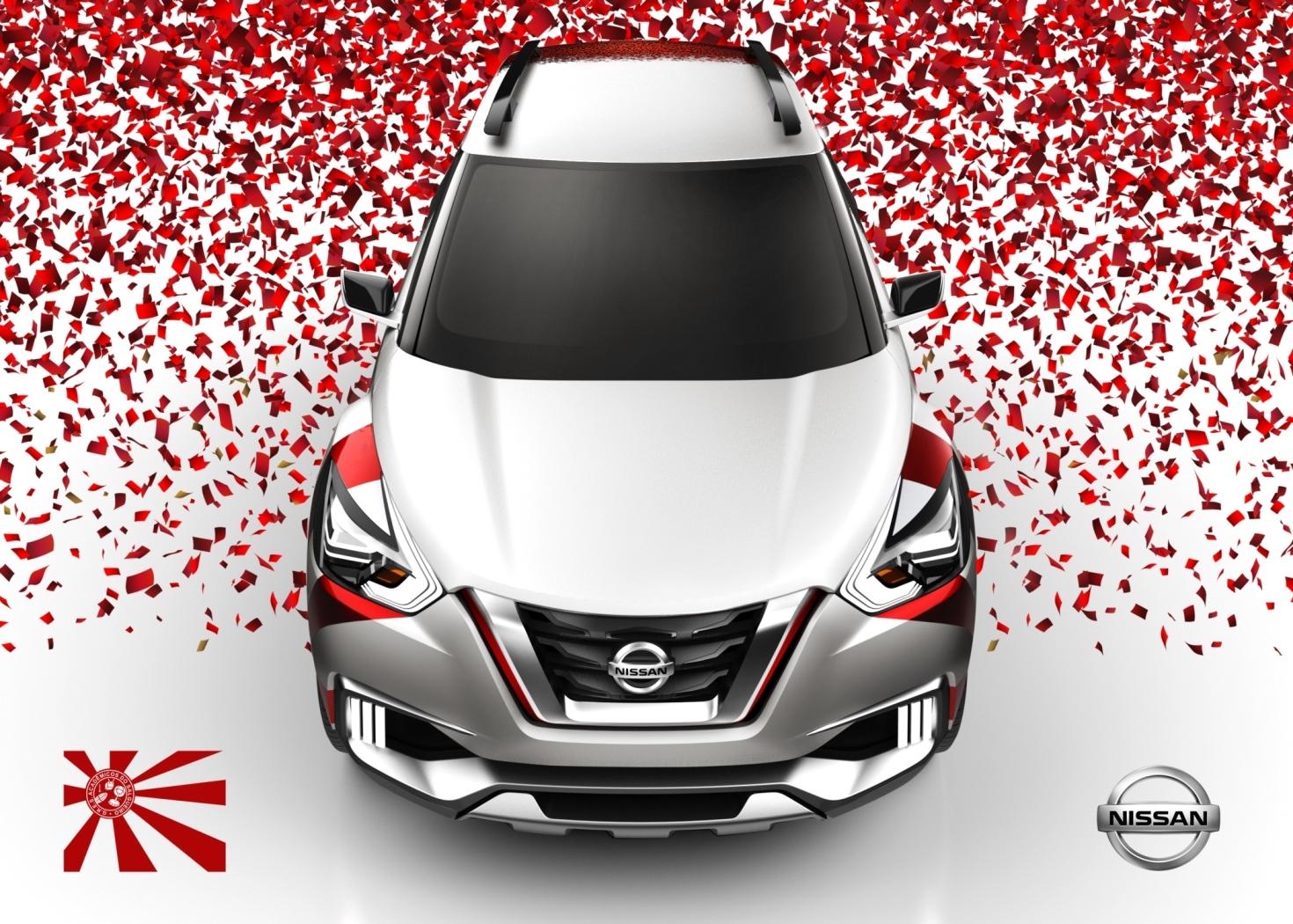 Kicks Concept: una Nissan per il Carnevale