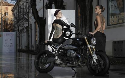 BMW Motorrad Roma e R nineT in passerella