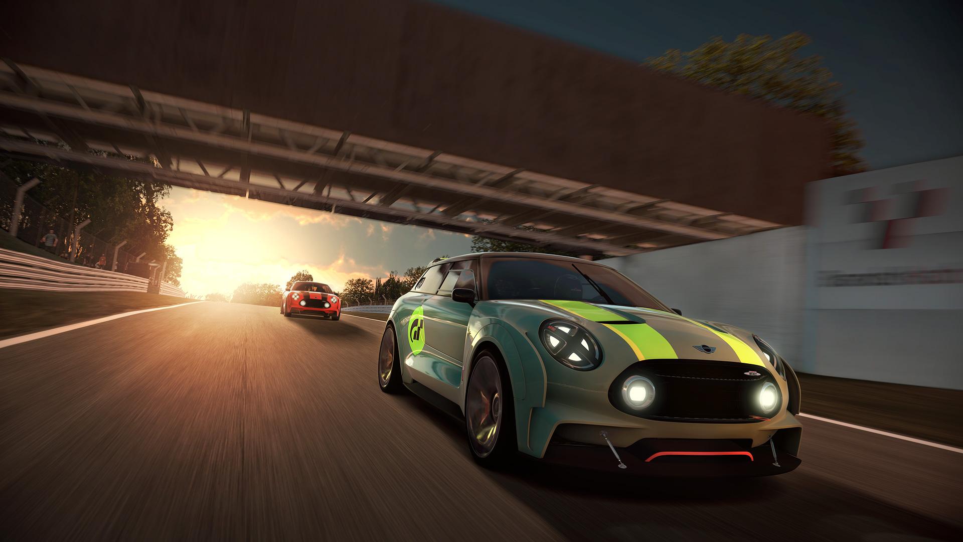 MINI goes Gran Turismo®6