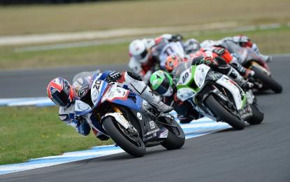 Barrier e BMW Motorrad Italia SBK Team a punti