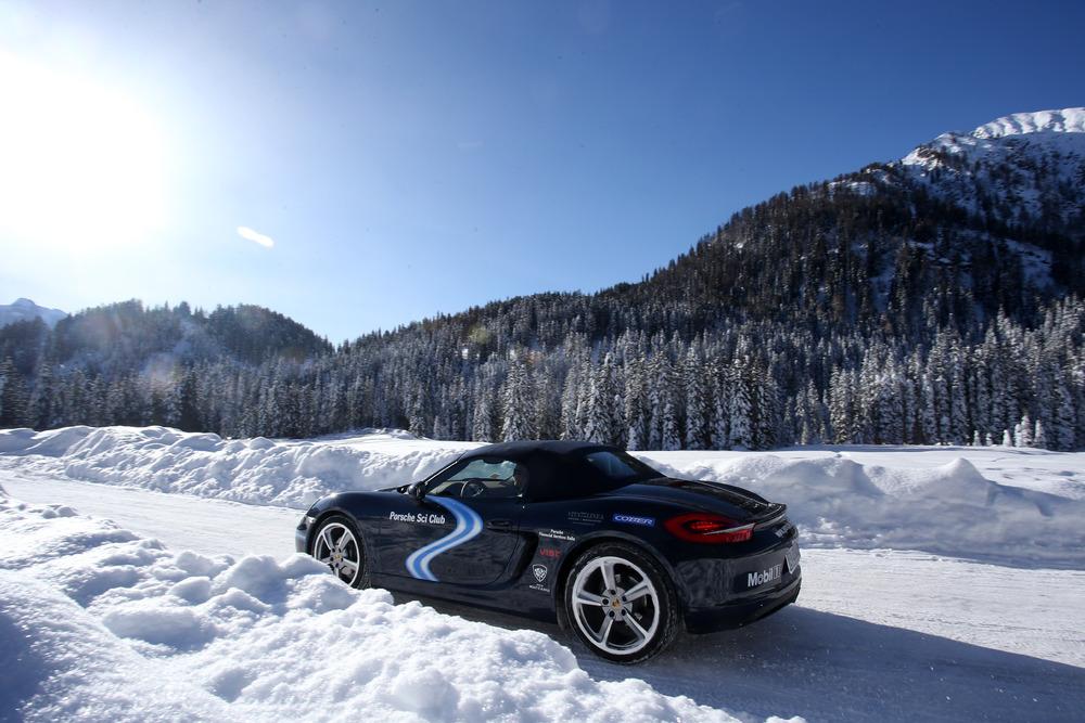 Porsche Sci Club Italia a Macugnaga