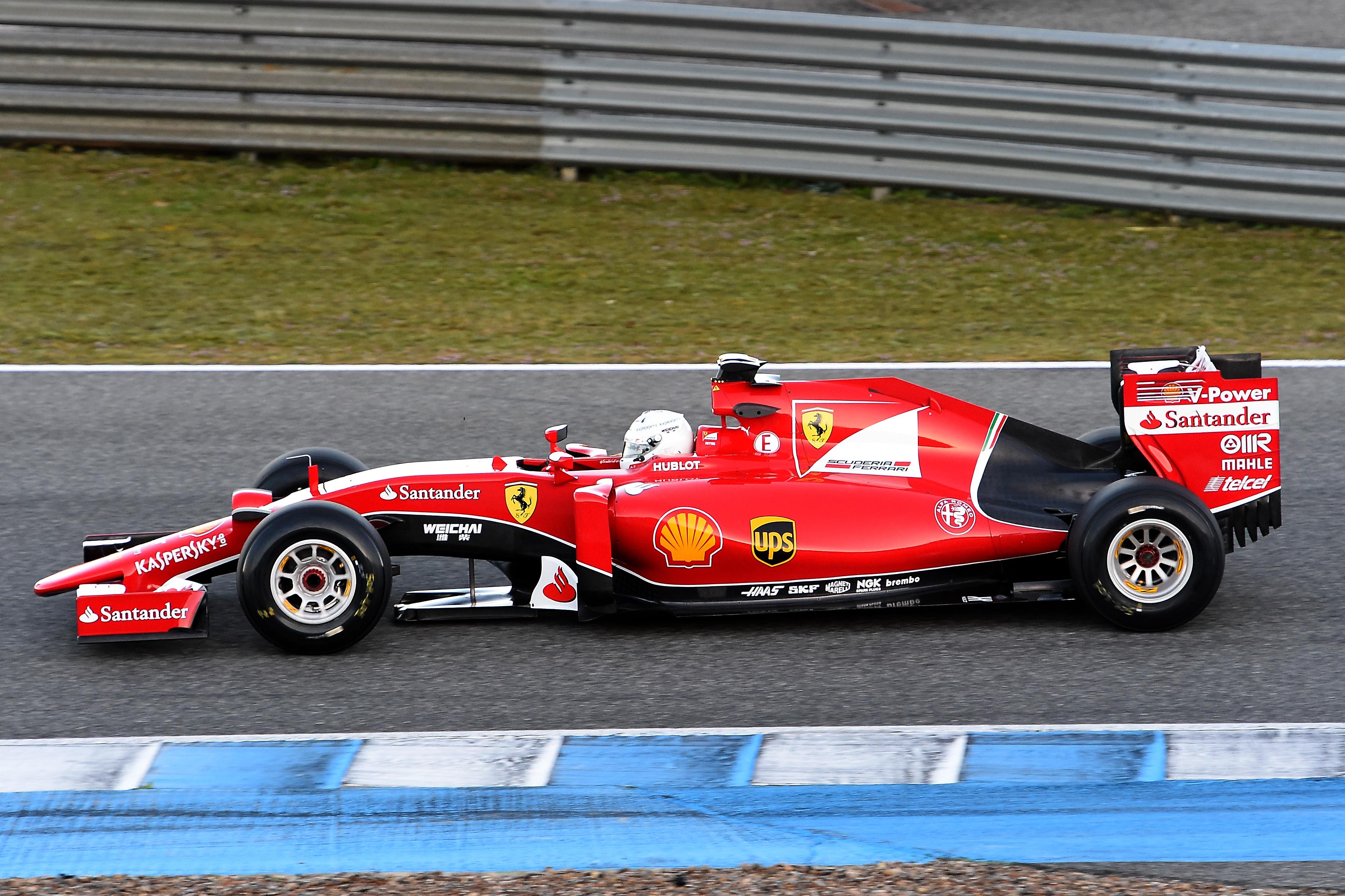 Test Jerez: ancora Vettel e la SF15-T