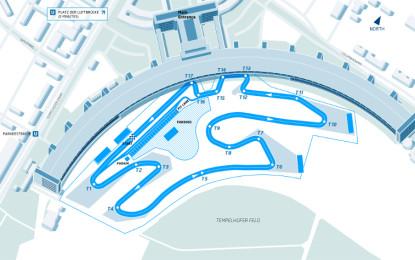 Formula E: ecco il circuito di Berlino