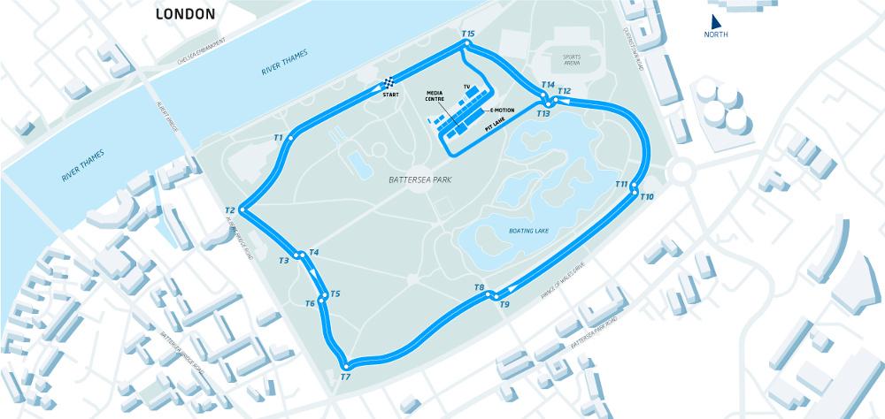 Formula E: semaforo verde per la gara a Londra