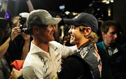 """Ecclestone: """"Tra Vettel e Ferrari non c'è mai stata la magia che c'era con Michael"""""""