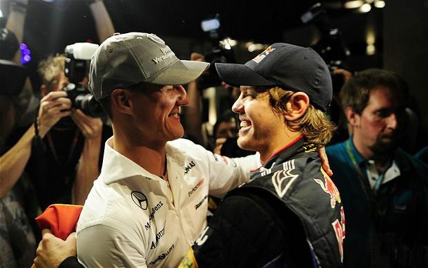 Vettel meglio di Schumacher: interviene Sabine Kehm