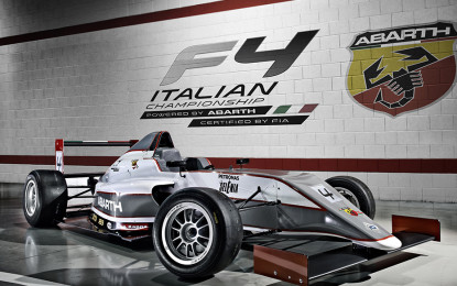 Abarth protagonista del weekend a Vallelunga