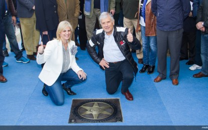 Agostini nella Walk of Fame di Jerez