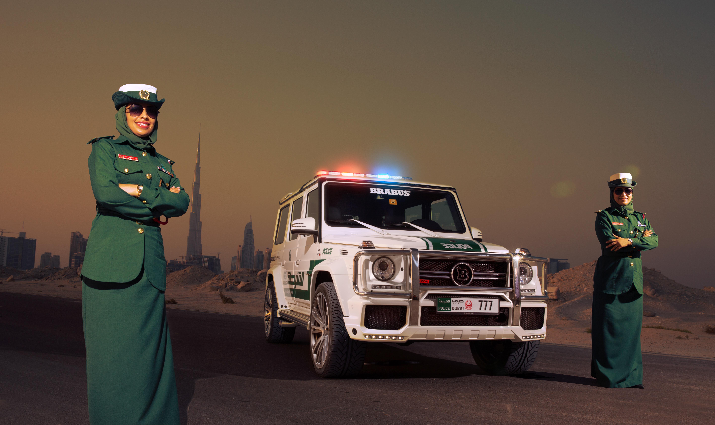 Brabus B63S-700 Widestar per la Polizia di Dubai