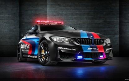 BMW M4 Coupé: cresce la flotta MotoGP Safety Car