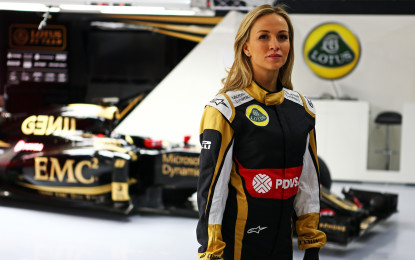 Lotus F1 Team ingaggia Carmen Jordà