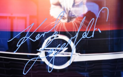 """Karl Lagerfeld inaugura """"Corsa Karl e Choupette"""""""