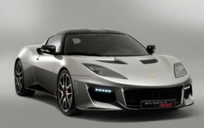 Lotus Evora 400: la più potente