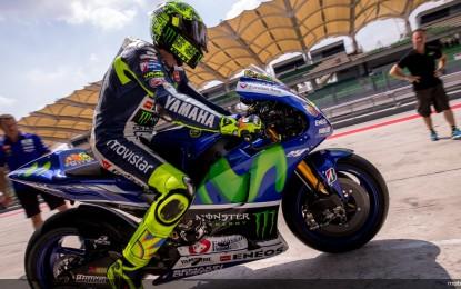 MotoGP: Rossi apre i test a Sepang da leader