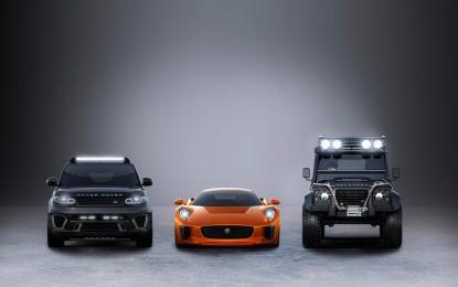"""Jaguar e Land Rover con James Bond in """"Spectre"""""""