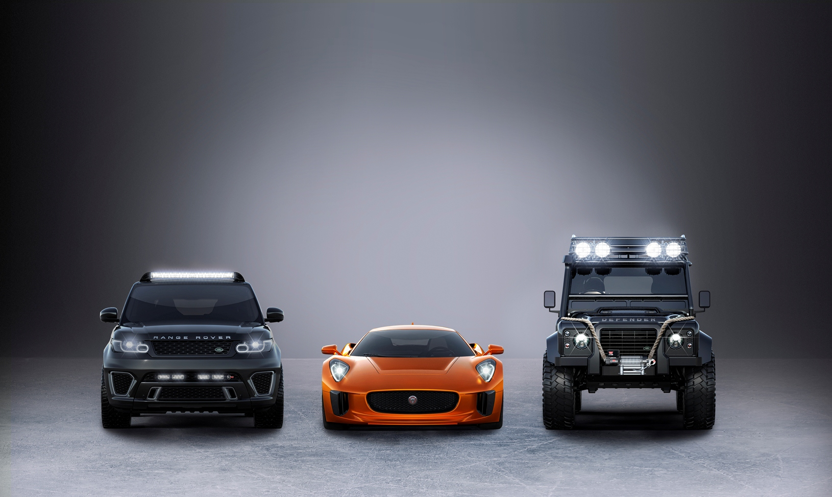 "Jaguar e Land Rover con James Bond in ""Spectre"""