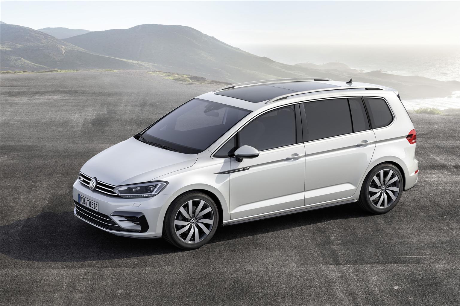 Volkswagen presenta la nuova Touran