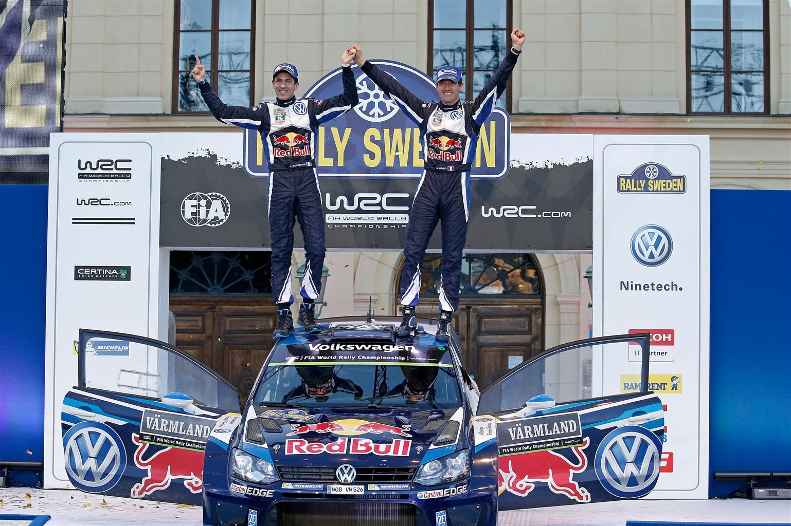 Svezia: Ogier, all'ultimo respiro