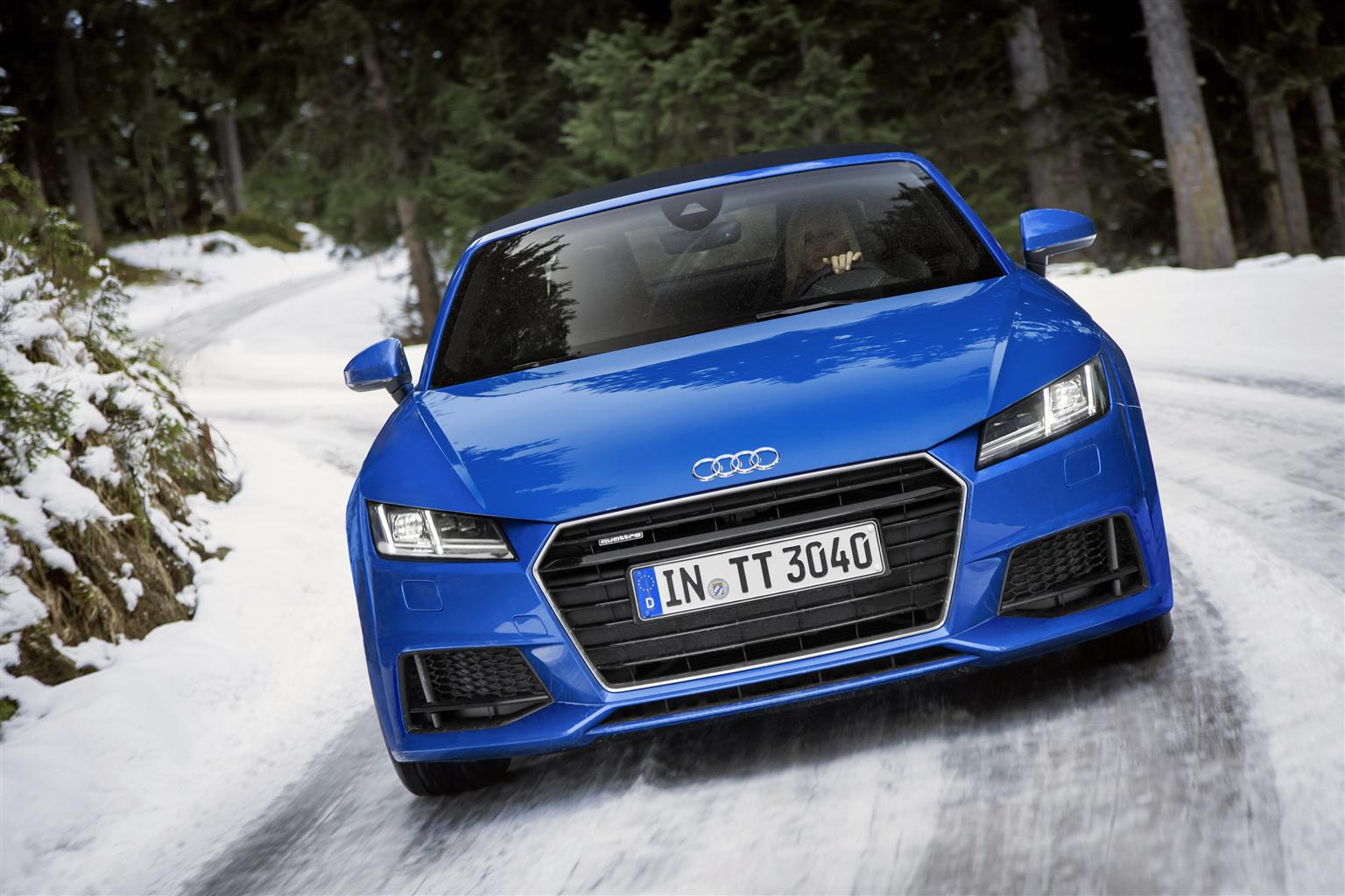 Nuova Audi TT Roadster e TTS Roadster