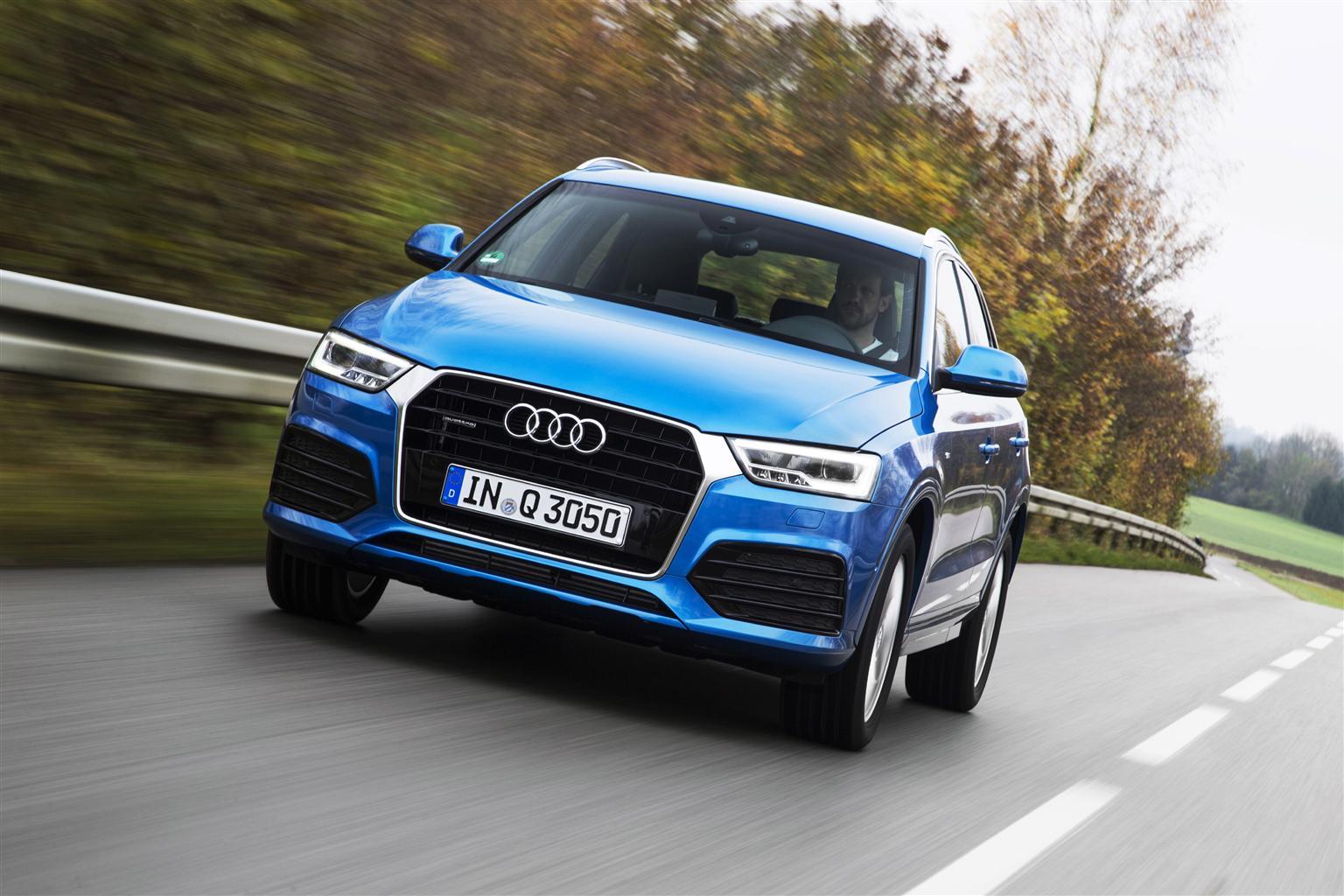 Audi Q3: l'offerta si completa