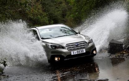 Subaru 2015: Outback, Levorg e Forester