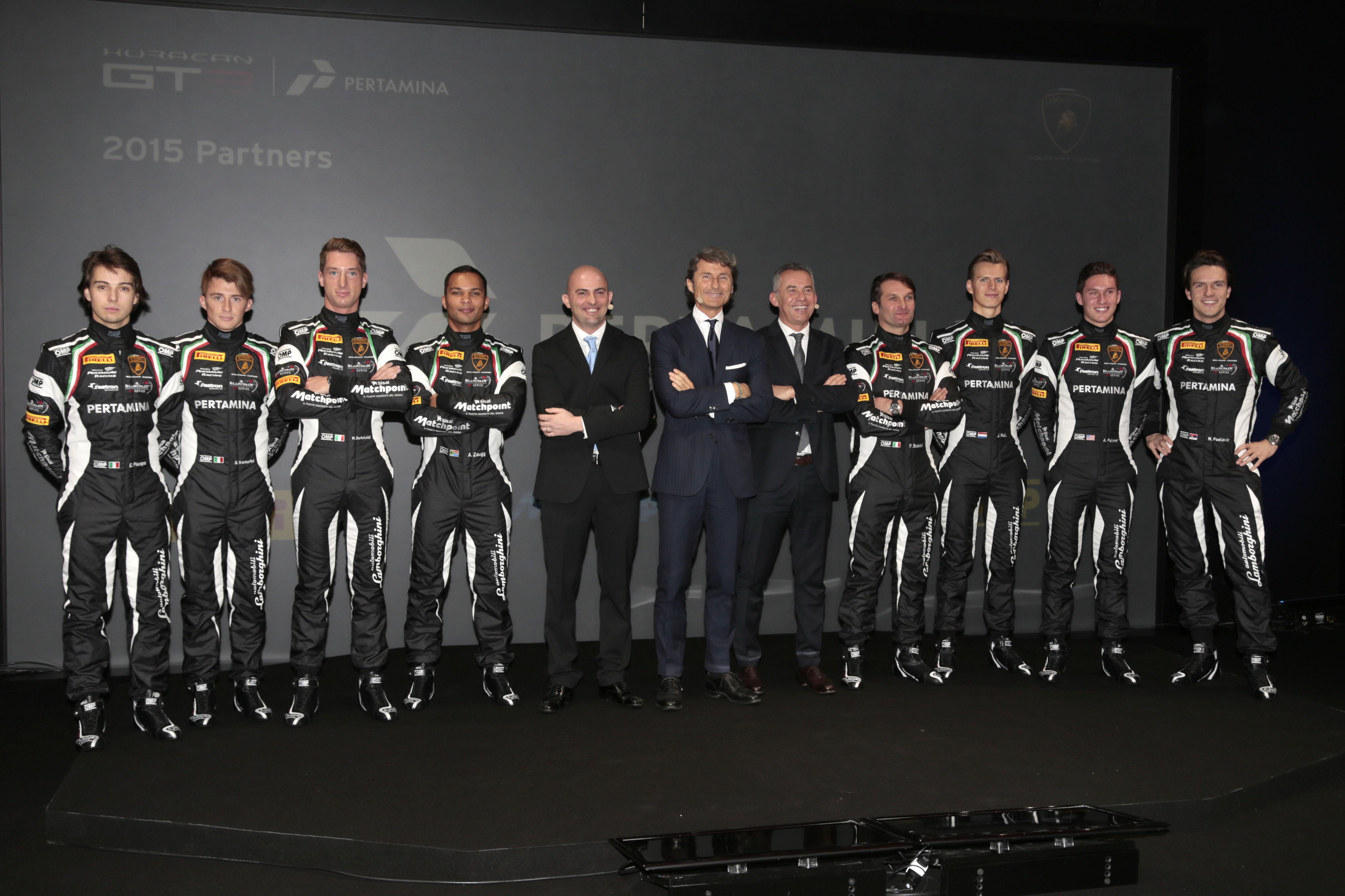 Lamborghini Squadra Corse: gli equipaggi