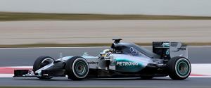 F1 Testing Barcelona, Spain 19 - 22 February 2015