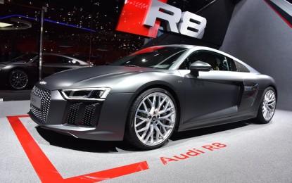 Audi presenta la nuova R8