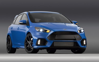 Ford Focus RS pronta al debutto a NY