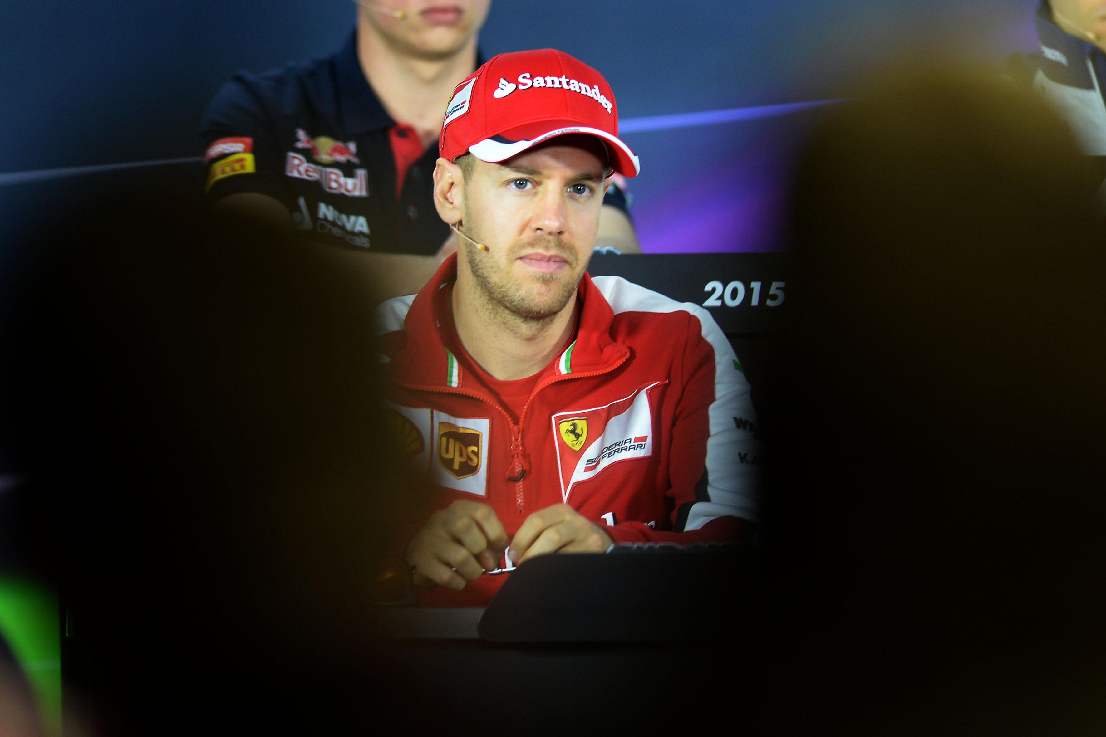 "Vettel: ""Sono molto felice"""