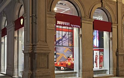 A Milano apre il nuovo Ferrari Store