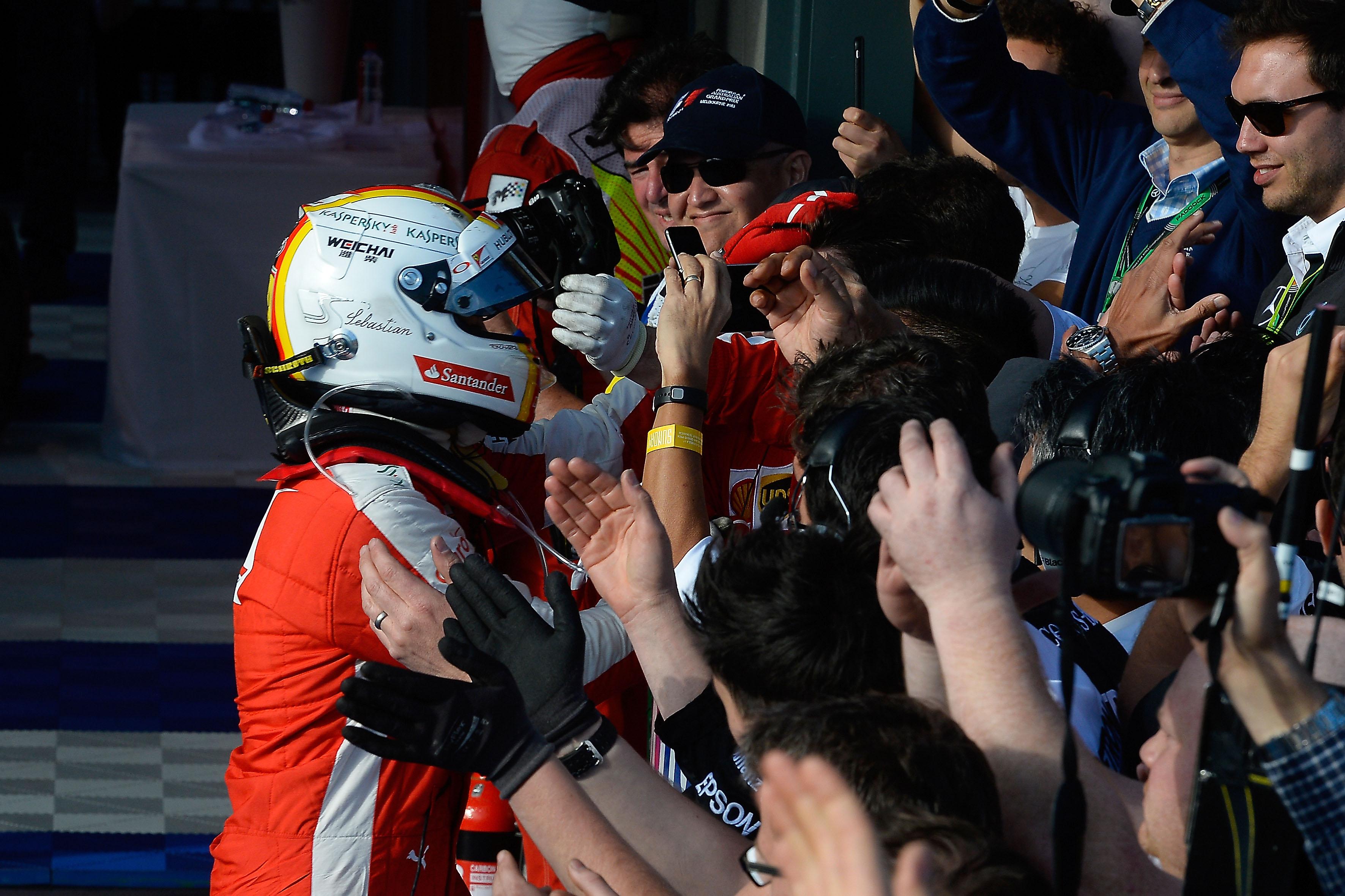 Ferrari: si riparte dal podio di Melbourne