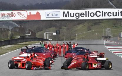 Programmi FXX ed F1 Clienti: conclusi i test al Mugello