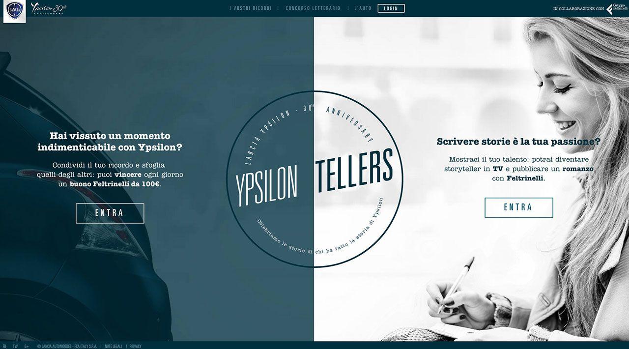 Ypsilon Tellers: nuovo incontro a Milano