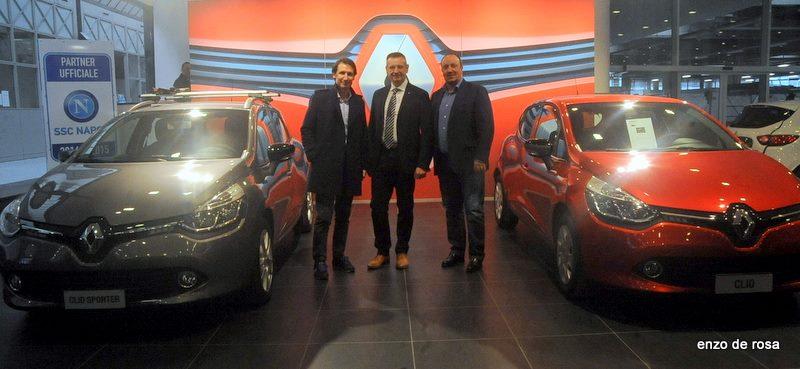 Renault fornitore ufficiale Calcio Napoli