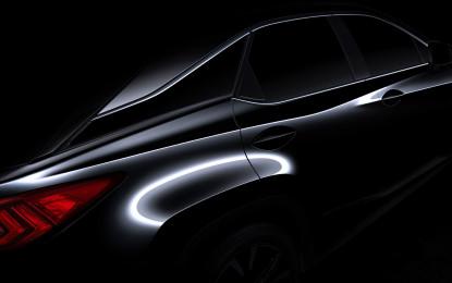 Lexus RX debutta al NYIAS