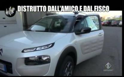 Le Iene viaggiano con Citroën Cactus