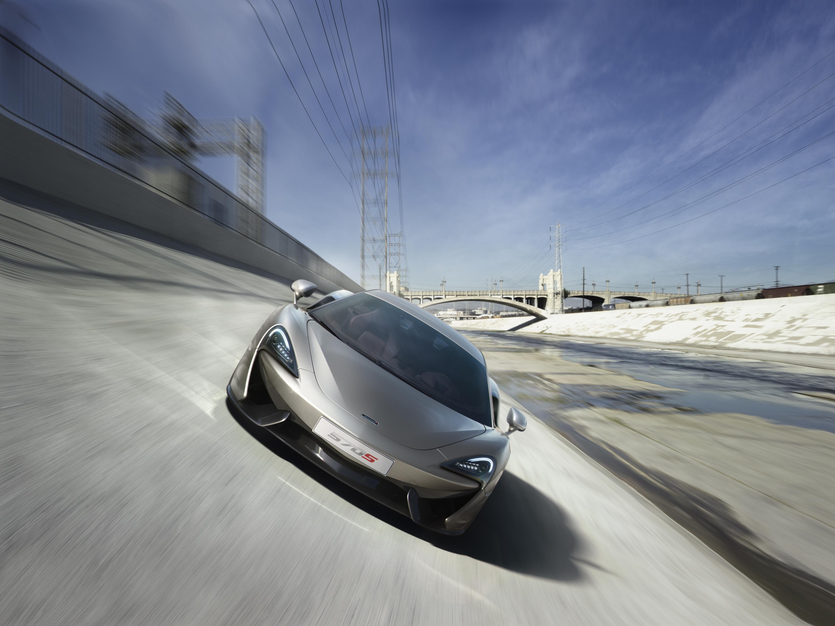 McLaren 570S Coupé: eccola, a sorpresa!