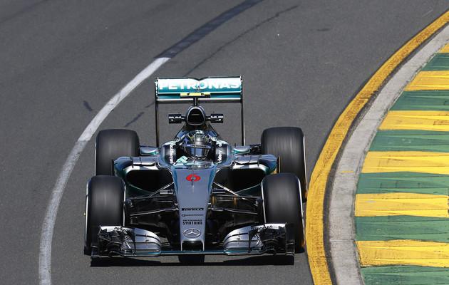 Spagna: prime libere a Rosberg