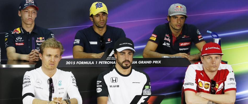 Sepang: parlano i piloti. E Alonso accusa la McLaren
