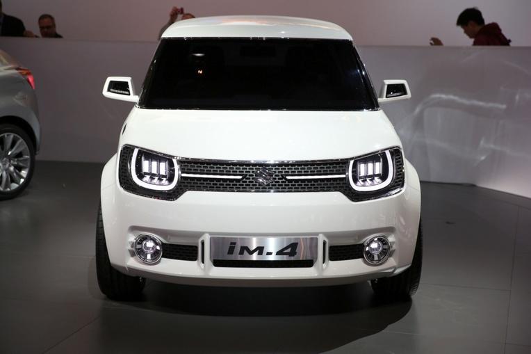 Suzuki iM-4: nuovo concept 4×4 compatto